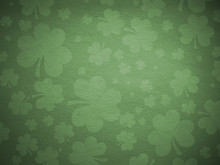 Green Clover Background
