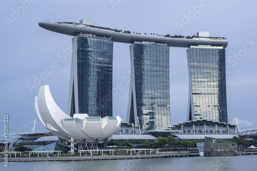 Tuinposter Singapore Singapur