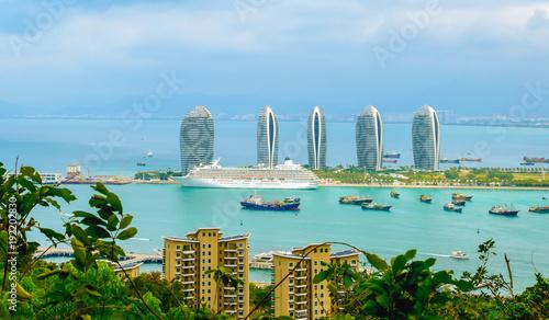 Tuinposter China Sanya, Hainan Island, China