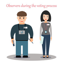 Observers Of The Voting Proces...