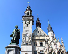 The Historic Belfry And Statue...