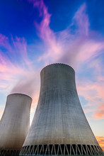 Nuclear Power Plant, South Bohemia, Czech Republic