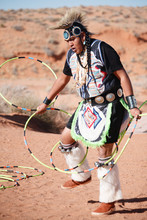 A Navajo Native American Man...