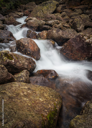 Poster  Mountain river in High Tatras