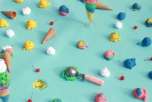 Rainbow Ice Cream Series