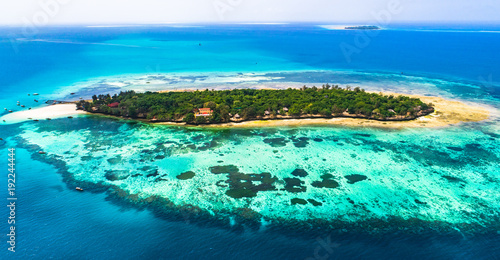 Prison island. Zanzibar, Tanzania.