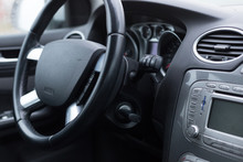 Interior Of The Vehicle Speedo...