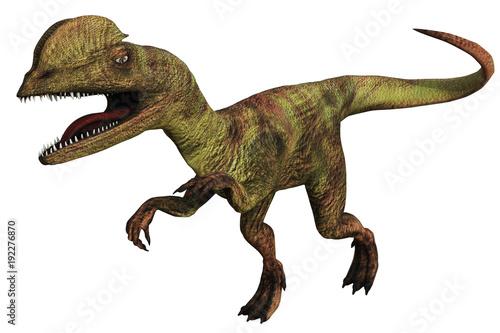 Dilophosaurus dinosauro a due creste