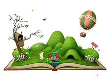 Isolated Spring Illustration F...