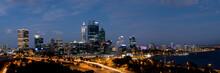 Panoramic View Of Perth City S...