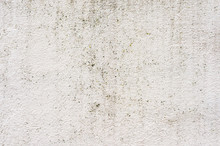 Textured Background Of A Tiled Wall With Traces Of Moisture In The Form Of A Green Fungus Vertical Traces. Grunge Texture