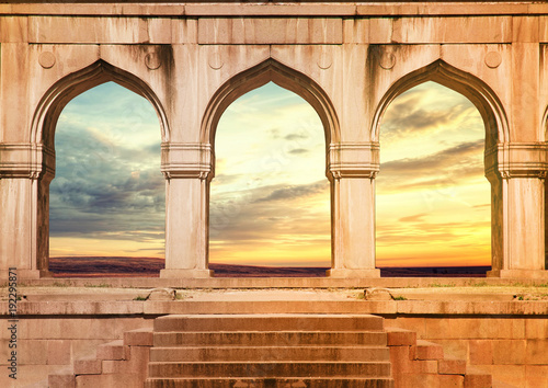 ARCH ANCIENT INDIAN ARCHITECTURE - Buy this stock photo and explore