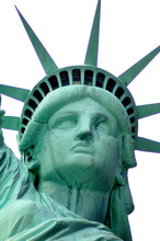American Symbol - The Statue Of Liberty, New York, USA