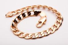 Beautiful Photo Close-up Gold Bracelet Jewelry, Chain, Jewelry