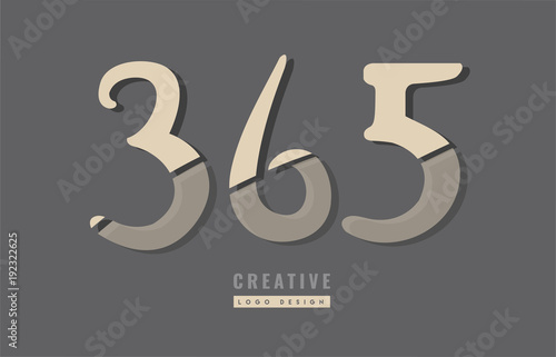 Fényképezés  Design of logo with grey background color suitable as an icon for a company or b