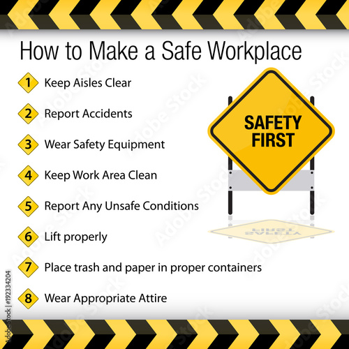 How to Make a Safe Workplace Sign Canvas Print