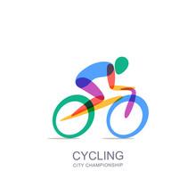 Vector Cycling Logo, Icon, Emb...