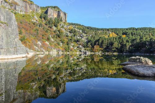 Laguna Negra, glacial lake in Soria, Spain