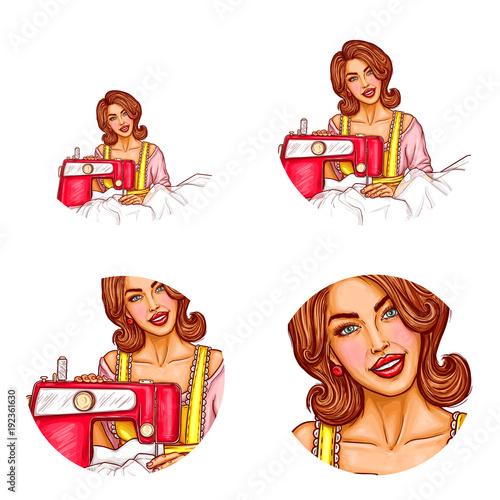 Adult female avatars