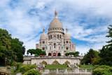 Fototapeta Paryż - The Sacre Coeur Basilica at Montmartre in Paris