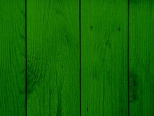 Green Wood Wall Background Tex...