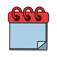 Notepad Vector Illustration
