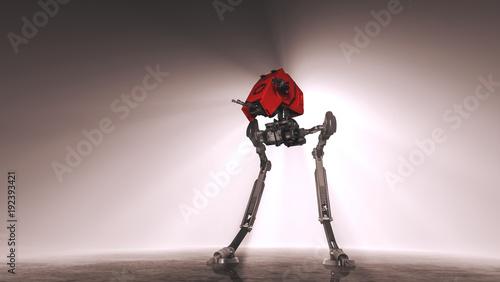 Two legged war robot