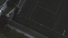 Stationary Drone Shot Over A S...
