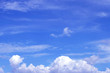 Sky and clouds are low, Bright air, for background