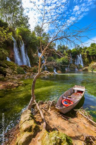 Kravice waterfall in Bosnia and Herzegovina - 192425214