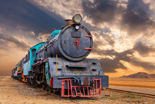 Locomotive Train In Wadi Rum D...
