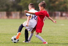 Young Children Players Footbal...