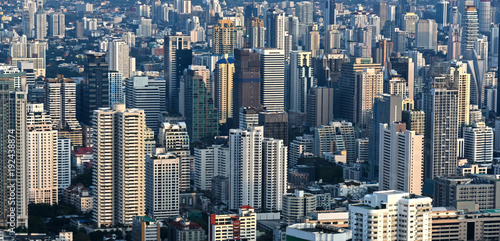 Photo  View of the city of Bangkok, Thailand