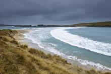 St Ninians Isle In Shetland, S...