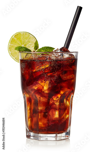 Cuba libre or long islan iced tea Wallpaper Mural
