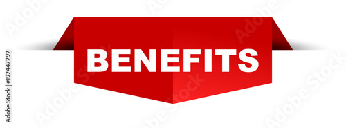 Fototapeta banner benefits obraz