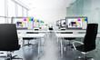 3d rendering of classroom
