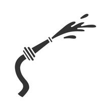 Fire Hose Glyph Icon