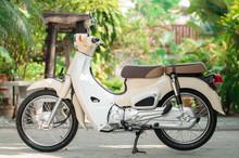 Vintage Motorcycle.Retro Style.
