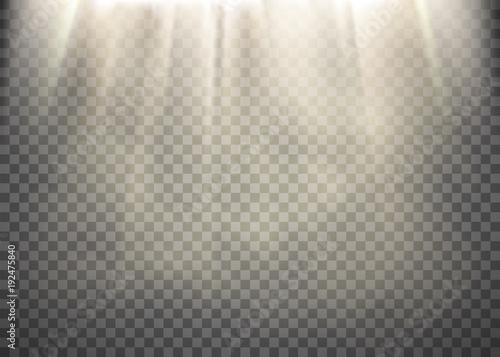 Photo Light rays pattern
