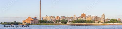 Photo Gasometro and Guaiba Lake, Porto Alegre