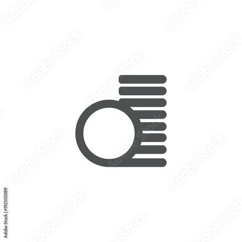 Fototapeta copeck icon. sign design obraz na płótnie