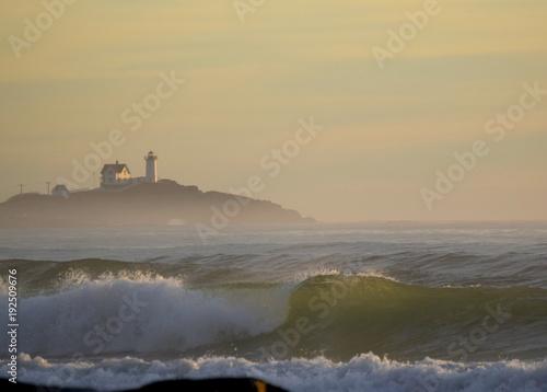 Fototapety, obrazy: Cape Neddick Nubble Lighthouse