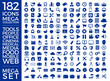 Set Of Icons, Quality Icon Collection Vector Design Eps 10