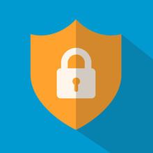 Shield Icon - Locked