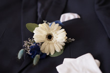 Corsage Boutonniere Brooch On ...