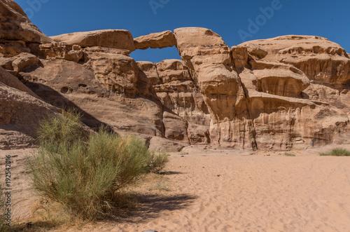 Fotografie, Obraz  Wadi Rum rock formations
