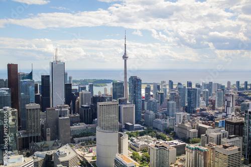 Poster Toronto Aerial Toronto, Canada