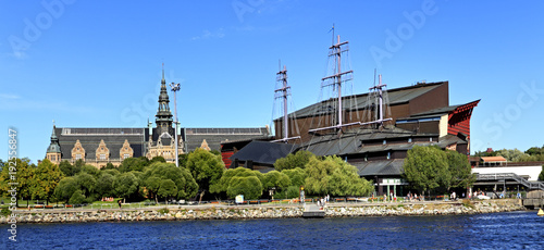 Stockholm, Sweden, Djurgarden Island - Vasa Museum dedicated