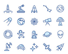 Space Vector Icon Set